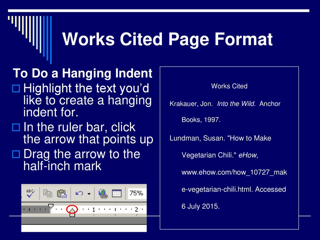 Using Mla Style For Citing Sources Ppt Download
