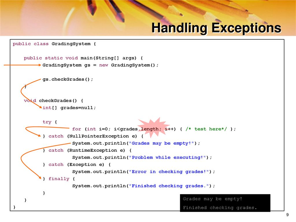 ATS Application Programming: Java Programming - ppt download