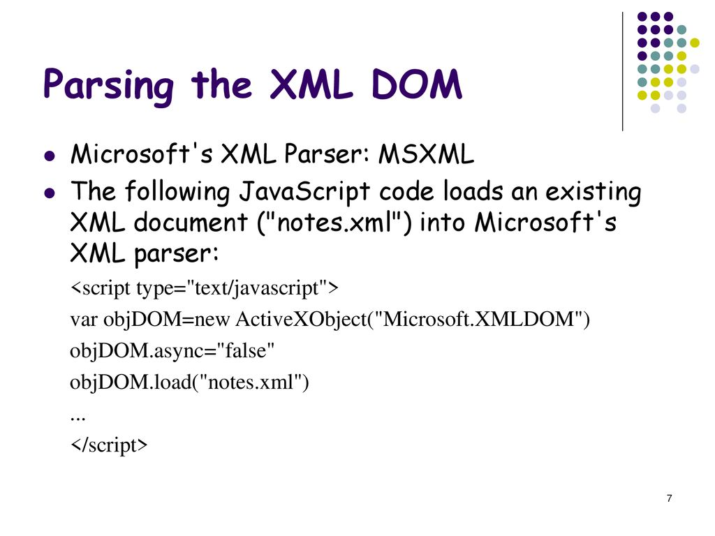 XML Programming  - ppt download
