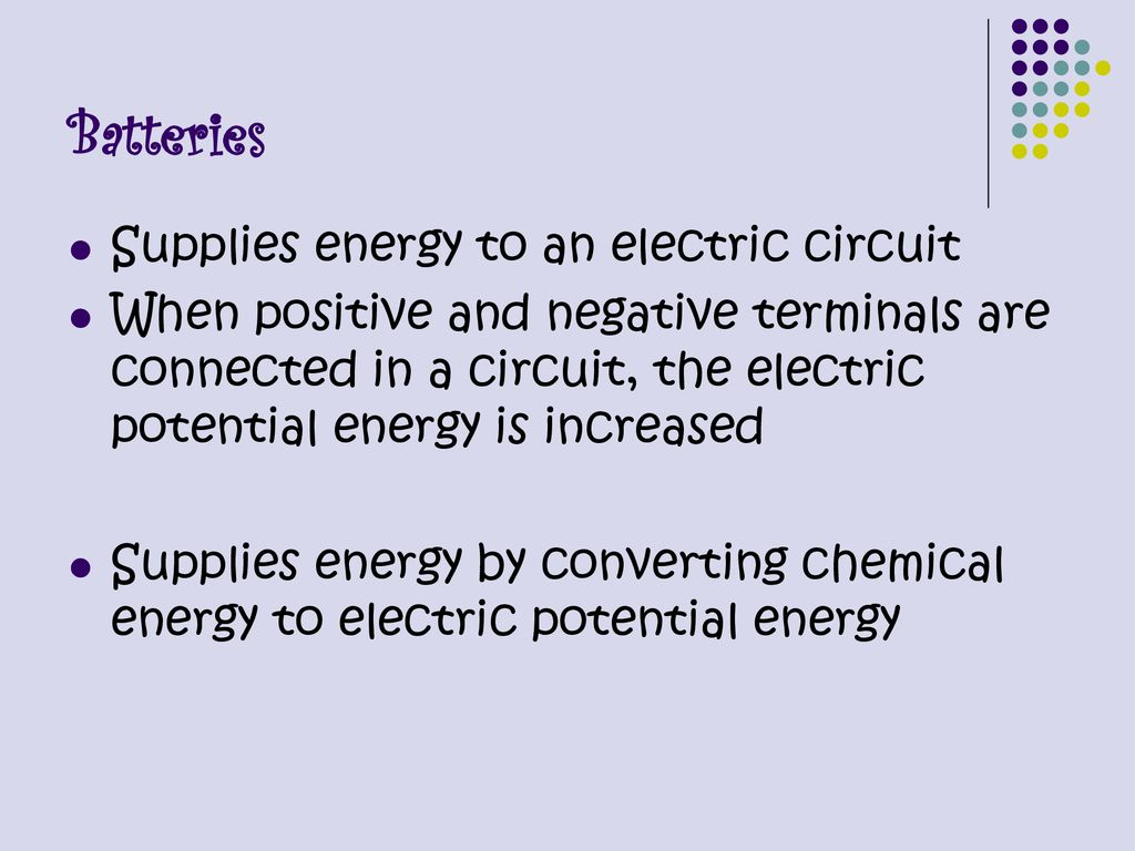 Electric Current Chapter Ppt Download