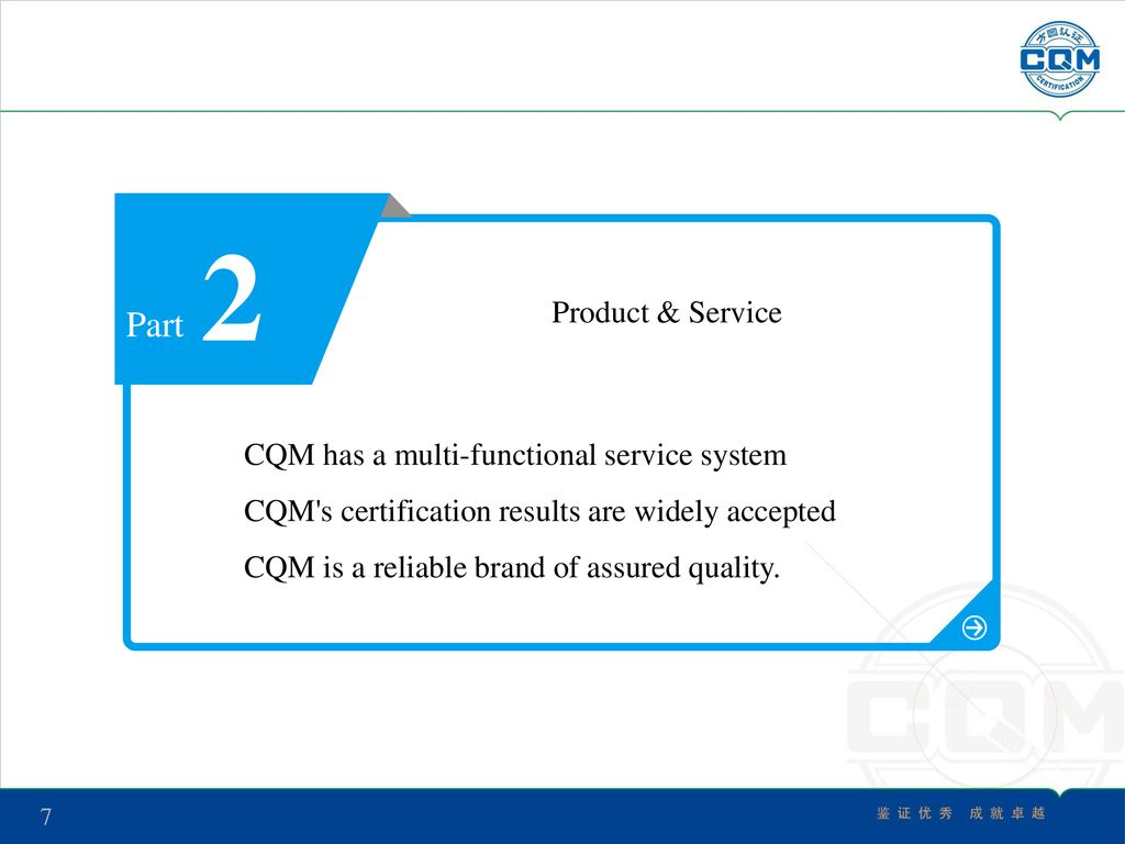 Welcome To Cqm Ppt Download