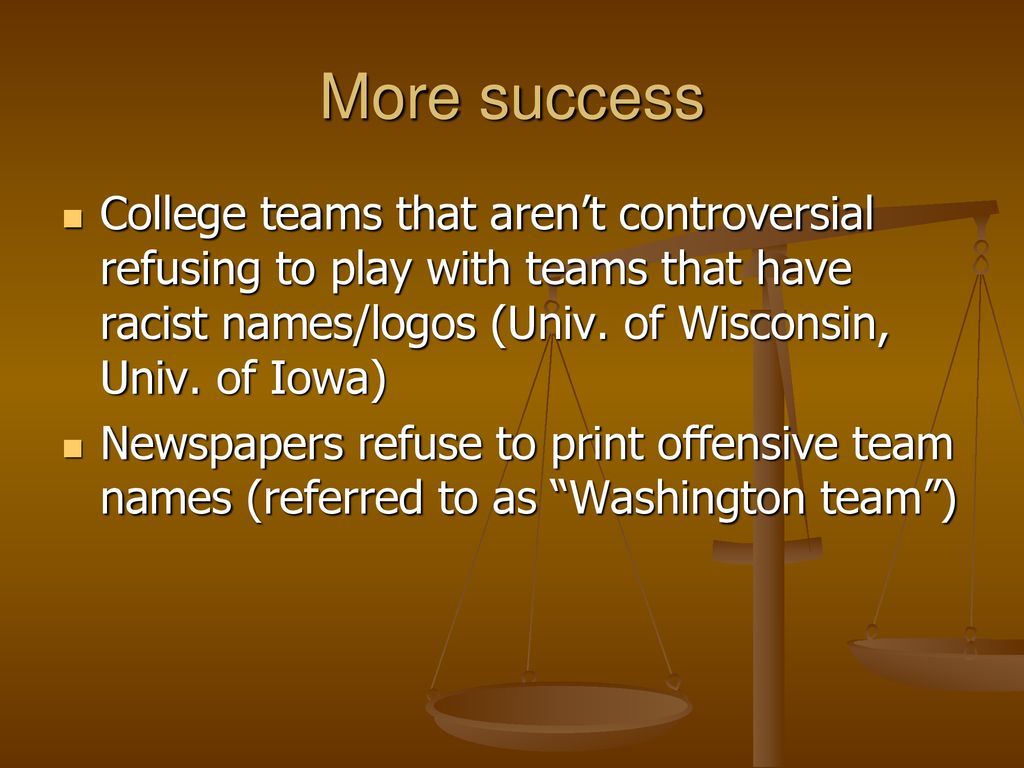 Racism in Sports Team Images - ppt download