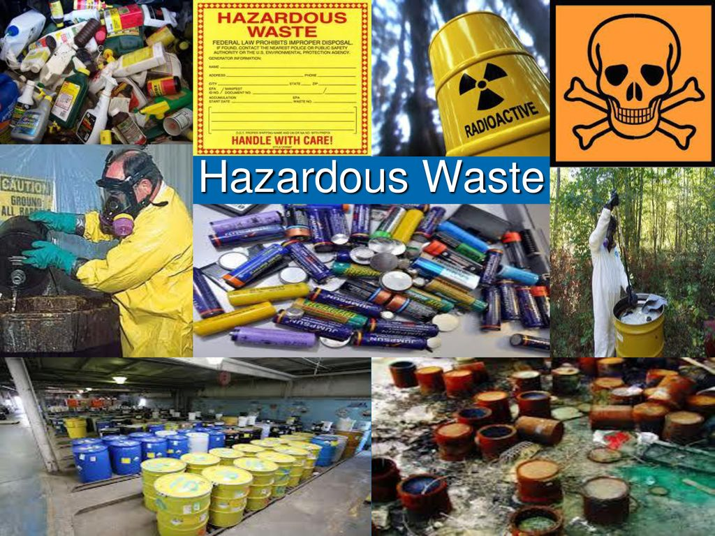 有害廃棄物。 -pptダウンロード