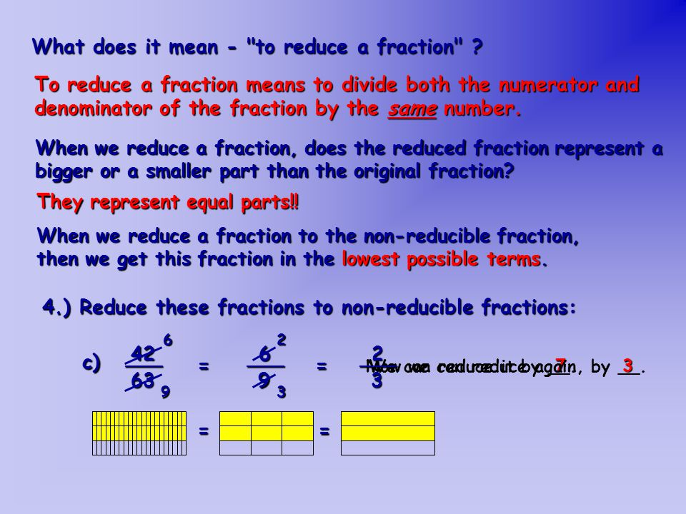 Fractions Revision Ppt Download