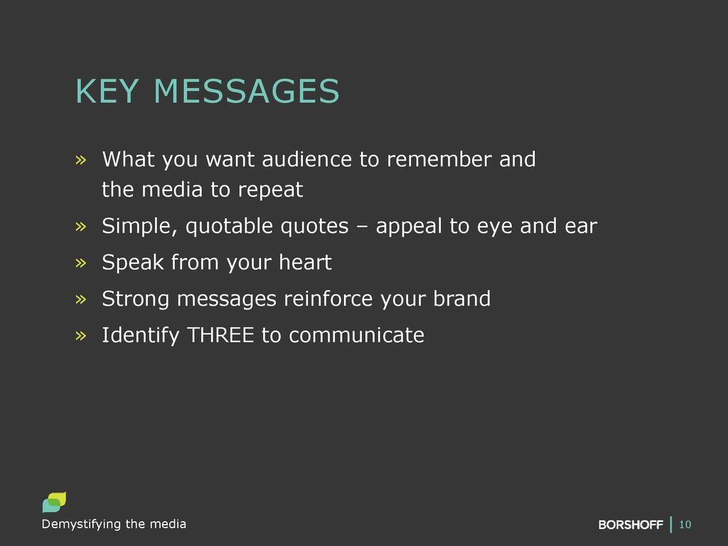 demystifying the media ppt download