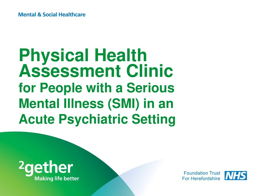 Physical Health Assessment Clinic - ppt download