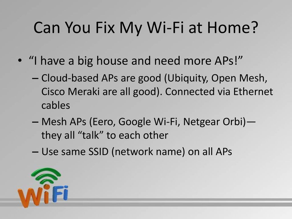 Everything You Always Wanted To Know About Wi-Fi - ppt download