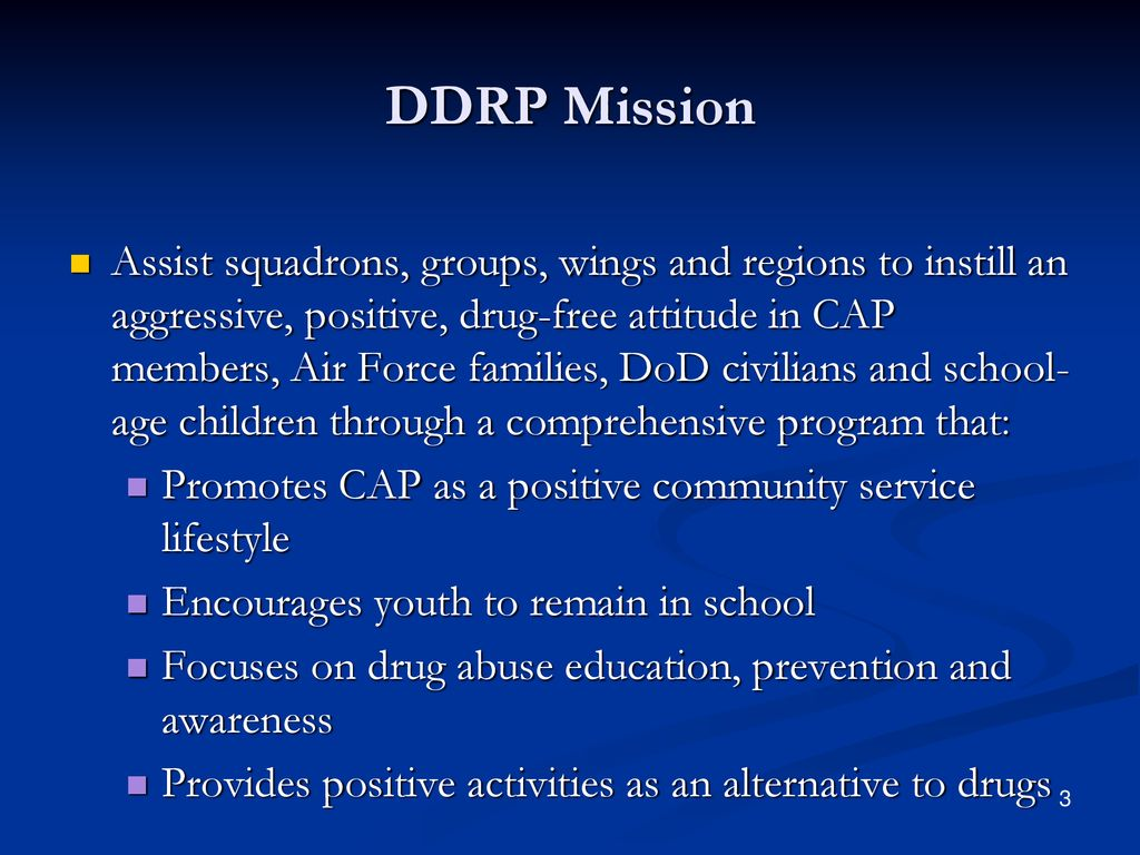 What Is The CAP DDR Program   Why Is It Important  - ppt download 7c8c1d75163