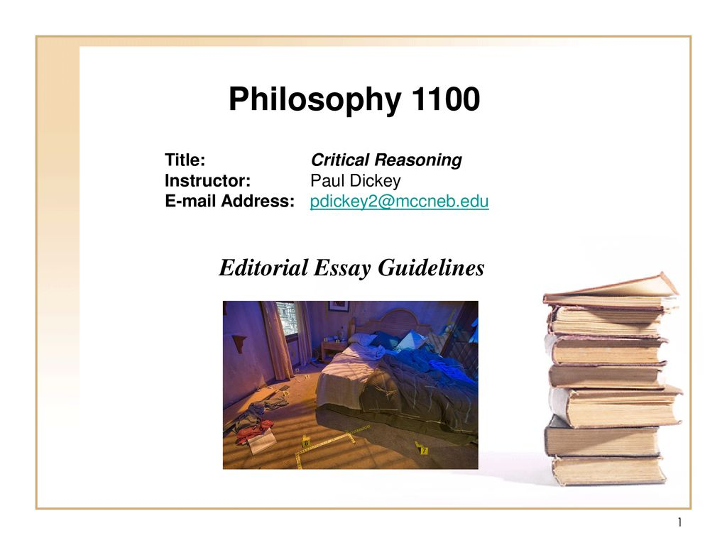 Extended Essay Topics English Philosophy  Editorial Essay Guidelines Title Critical Reasoning How To Write An Essay Thesis also Essay On Cow In English Philosophy  Editorial Essay Guidelines Title Critical Reasoning  Political Science Essay Topics
