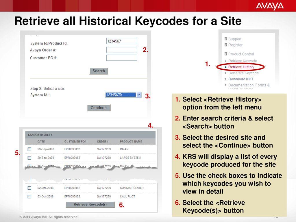 Course Title: Keycode Retrieval System (KRS) – CS 1000