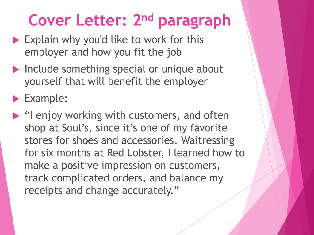 cover letter resume marketing ppt download