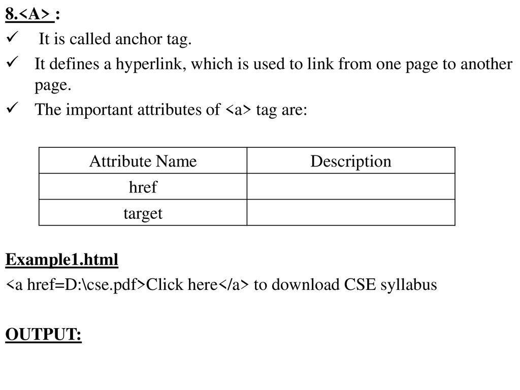 A Href Download