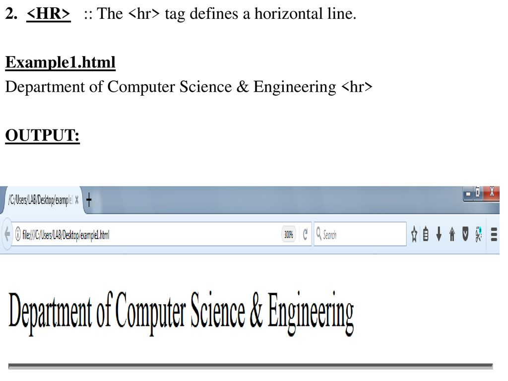HTML tags can be referred from - ppt download