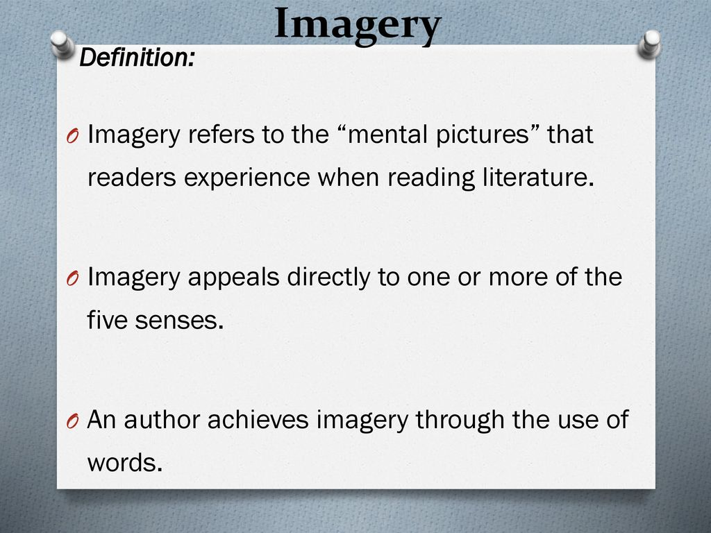 Top Five Literature Definition Of Imagery - Circus