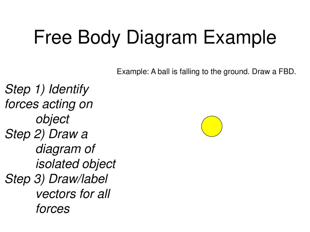 Forces And The Laws Of Motion Ppt Download Body Diagram Example Free