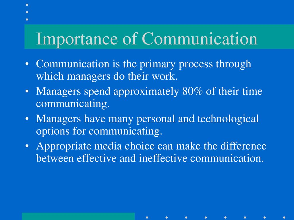 difference between effective and ineffective communication