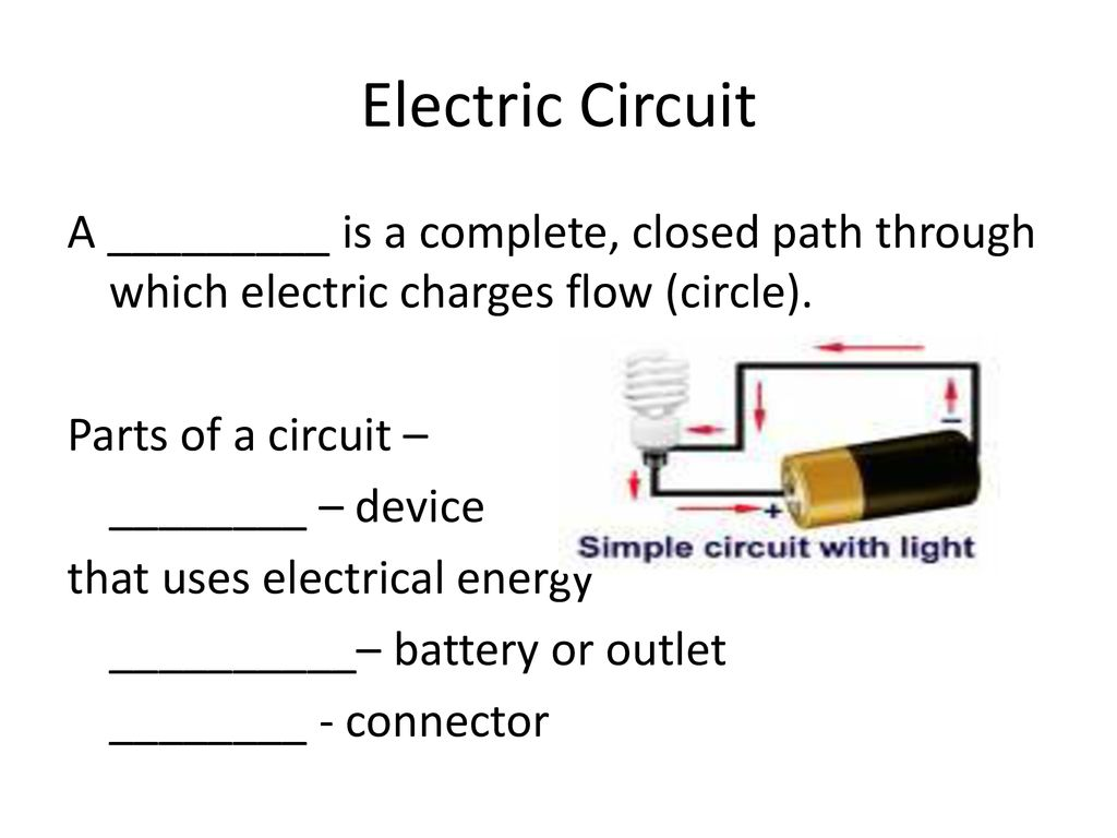 Circuit Notes Ppt Download Is Path That Allows Electricity To Flow Through Electric