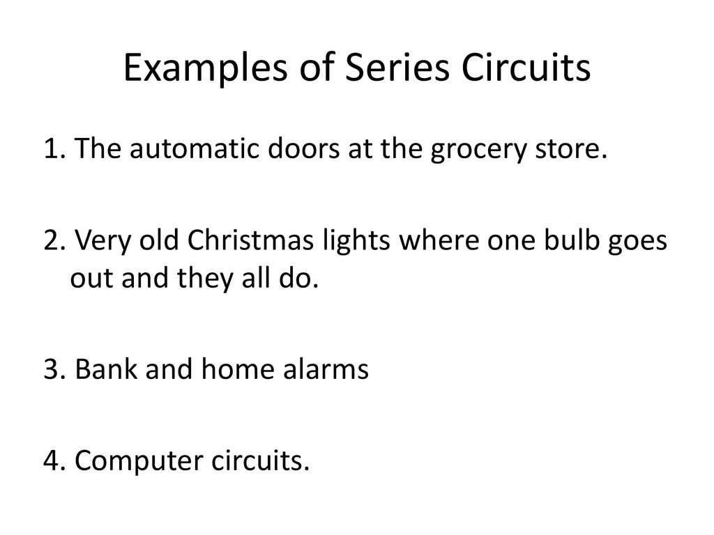 Circuit Notes Ppt Download Very Popular Images The Series Examples Of Circuits