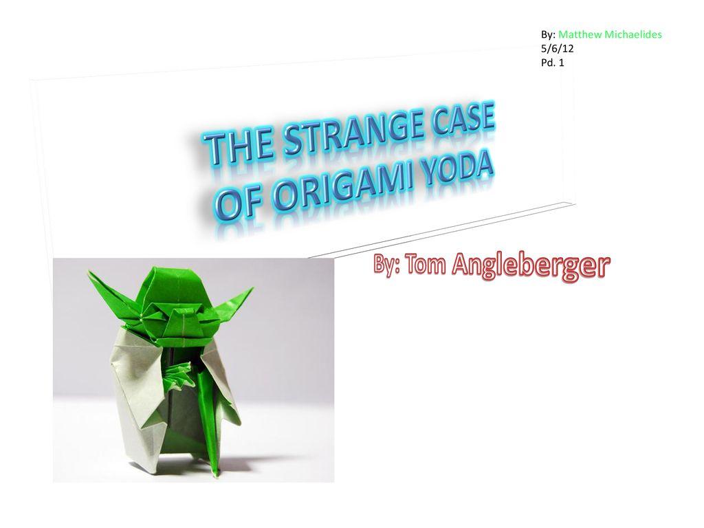 Q & A with Tom Angleberger | 768x1024