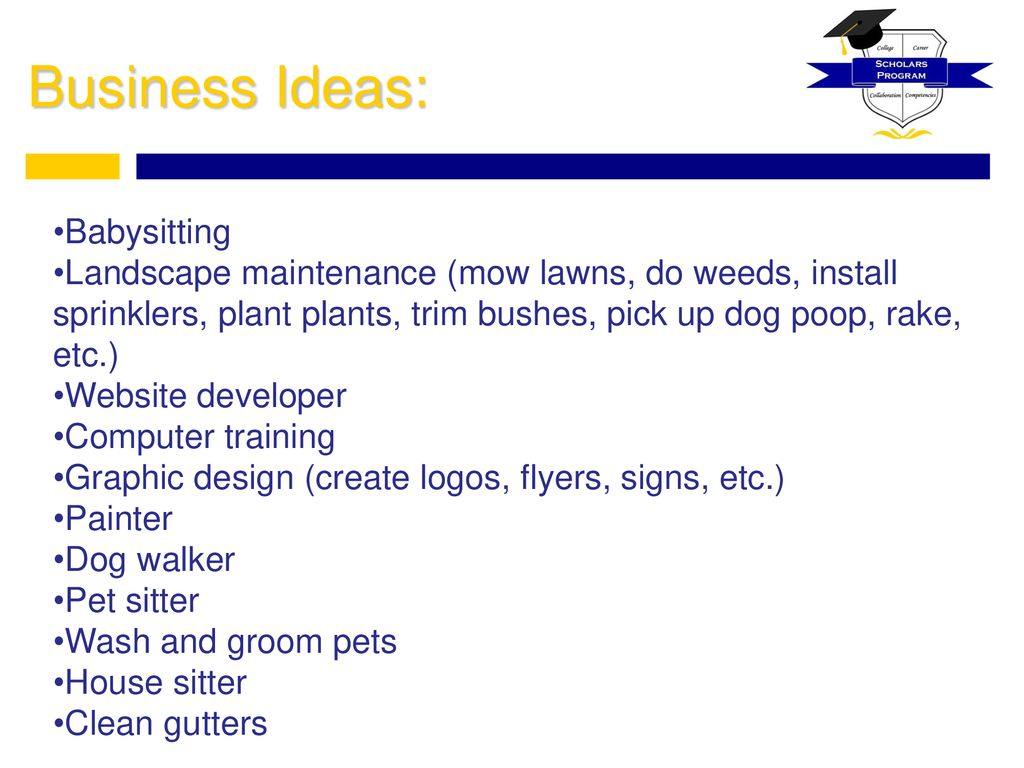 Creating Your Own Business - ppt download