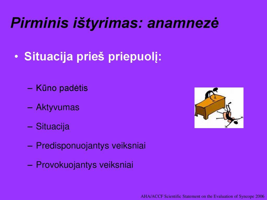hipertenzijos priepuolis yra)
