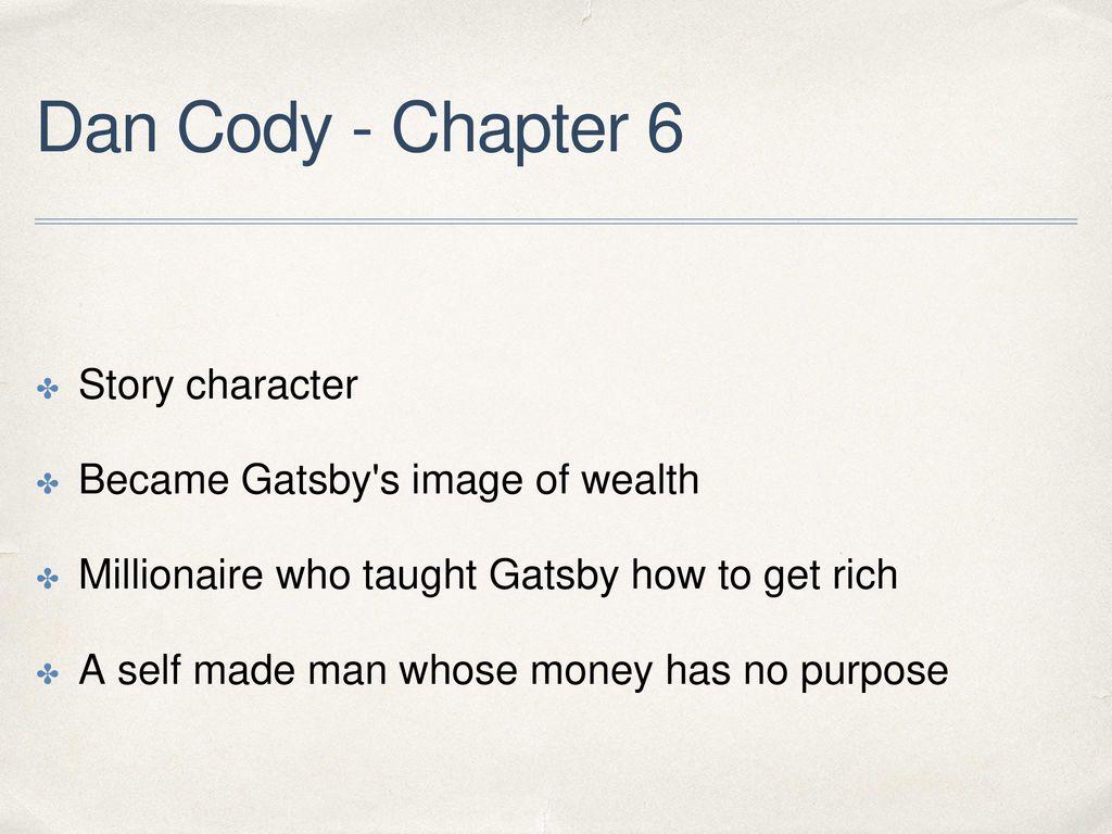 who is dan cody