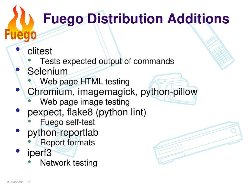 Fuego Test System Status Summary June ppt download