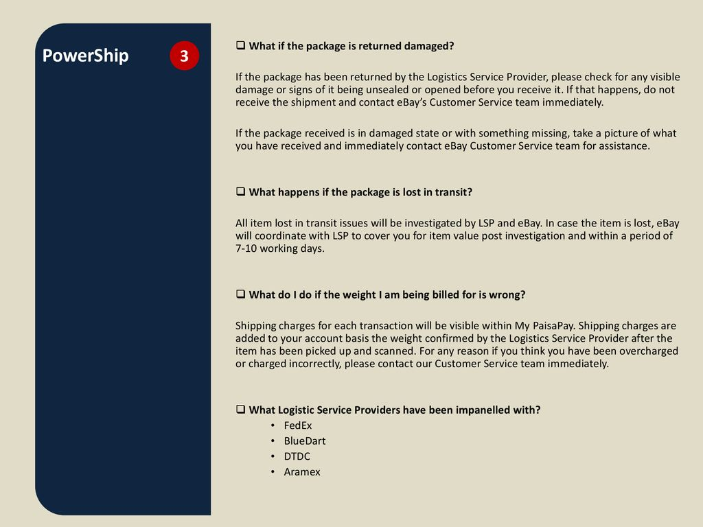 PowerShip  - ppt download