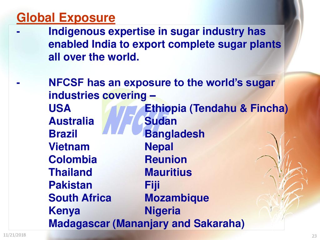 National Federation of Co-operative Sugar Factories Ltd  - ppt download