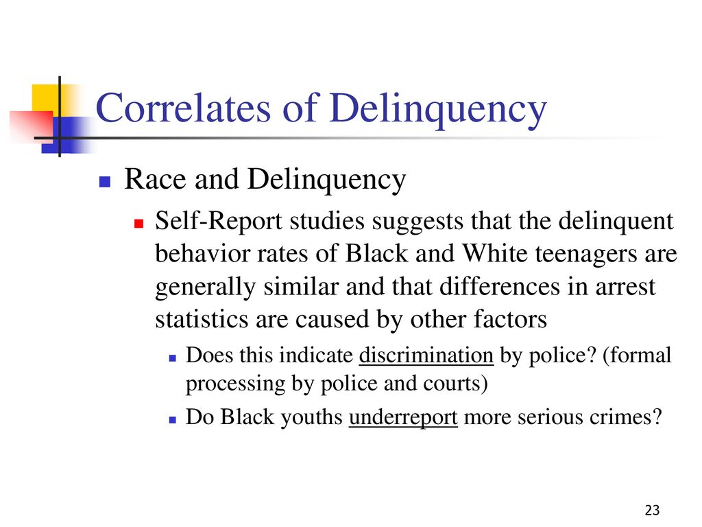 what causes delinquent behavior