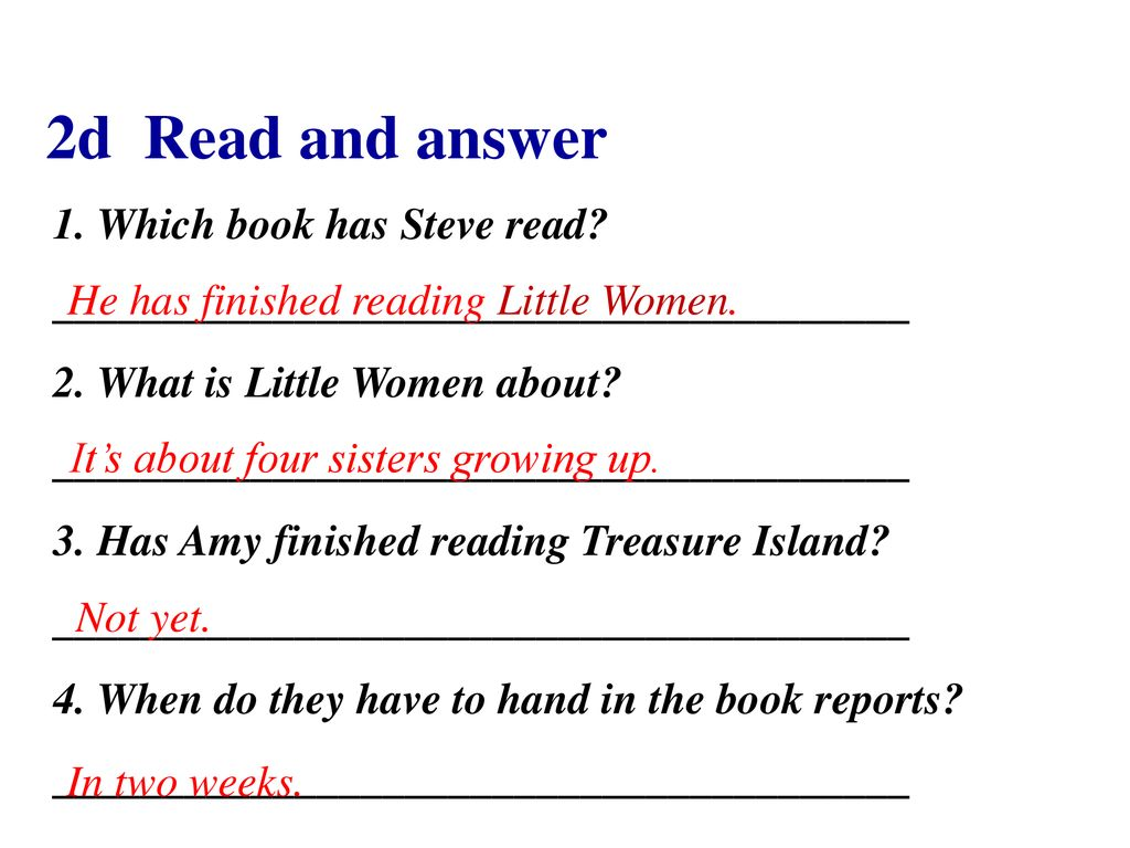Have you read Treasure Island yet? Section A - ppt download