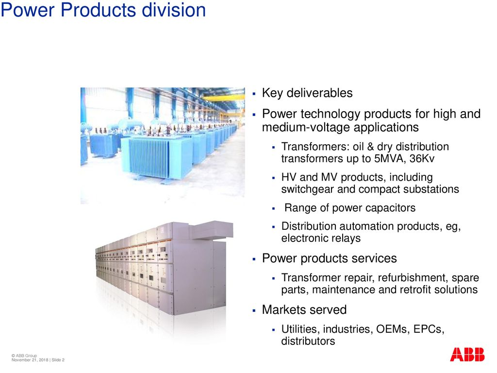 Power Products division - ppt download