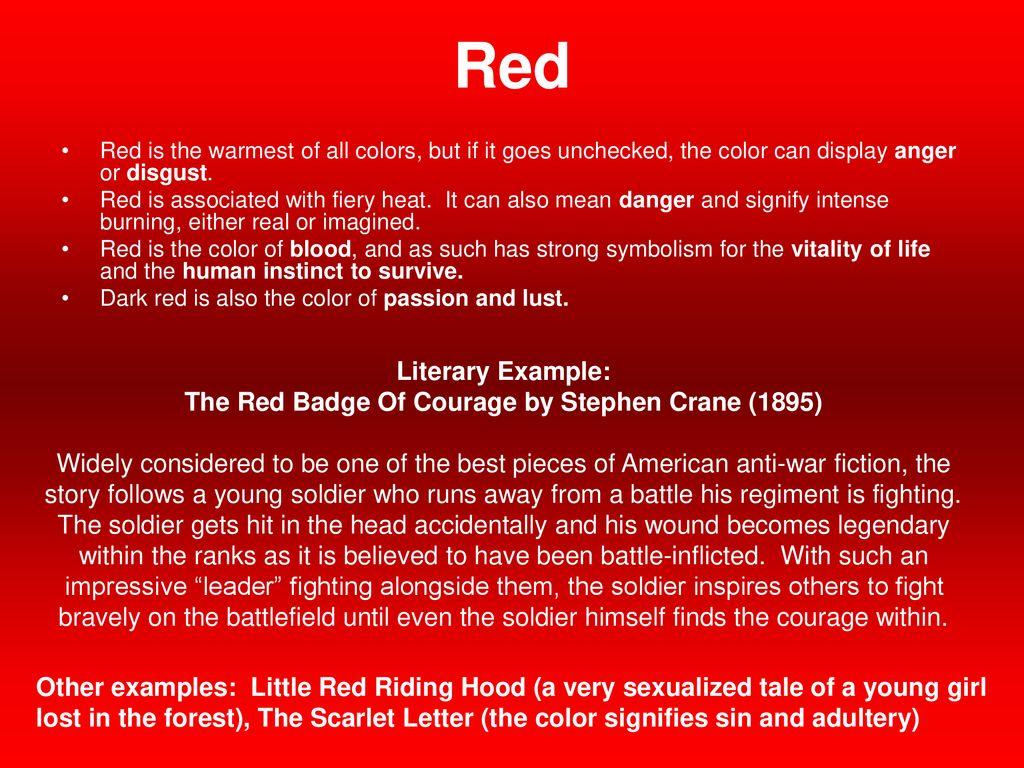 scarlet color symbolism