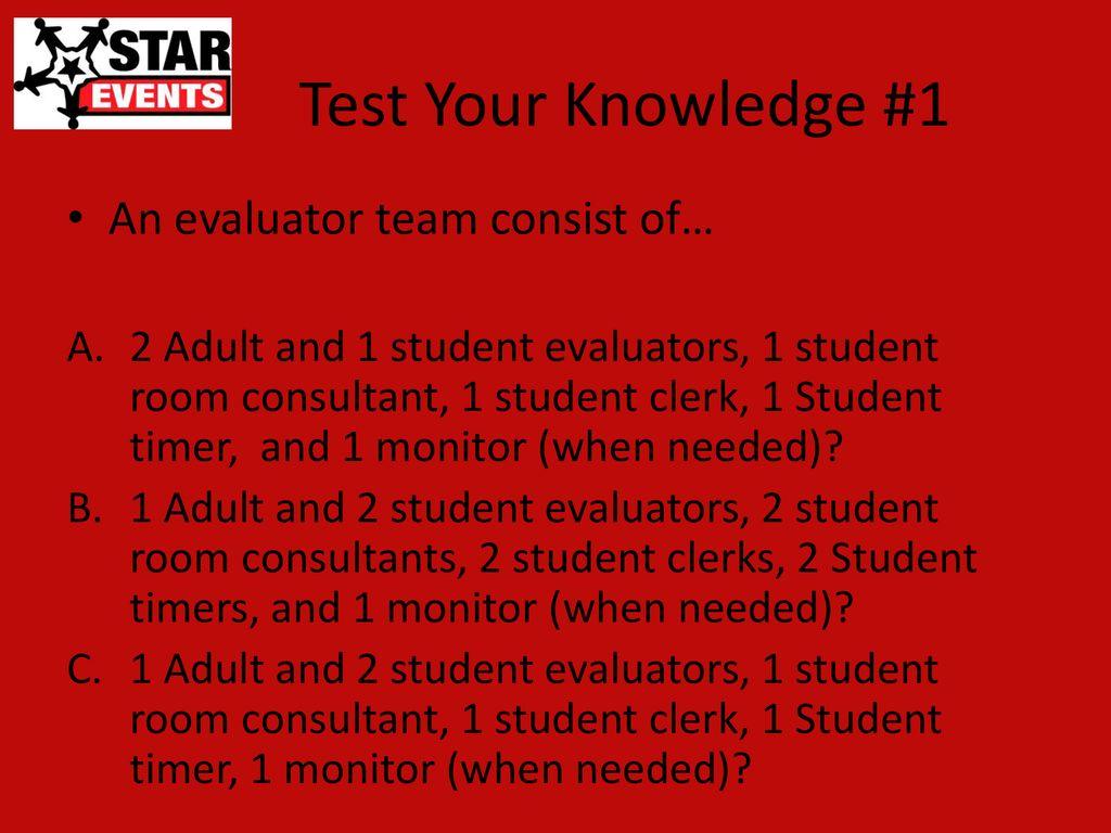 evaluator training ppt download