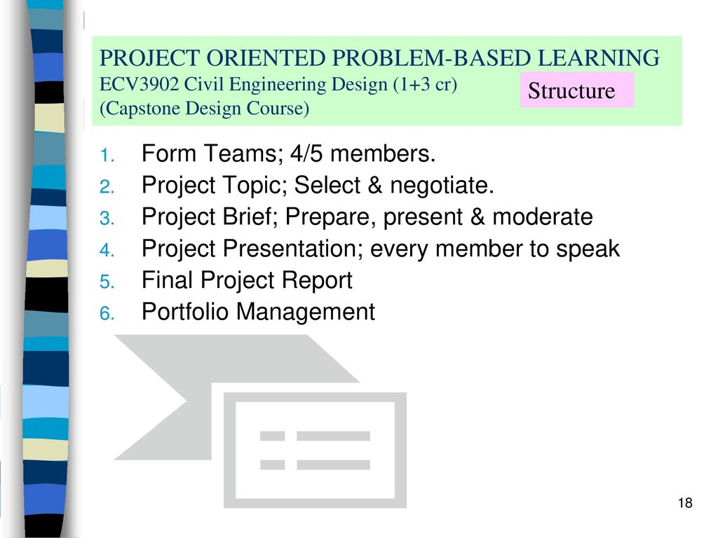Implementing Project Oriented Problem-Based Learning (POPBL) in a