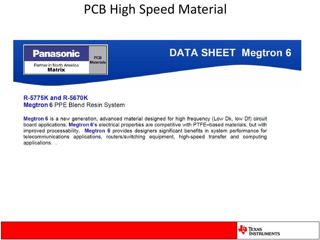 High-Speed Serial Link Layout Recommendations – - ppt download