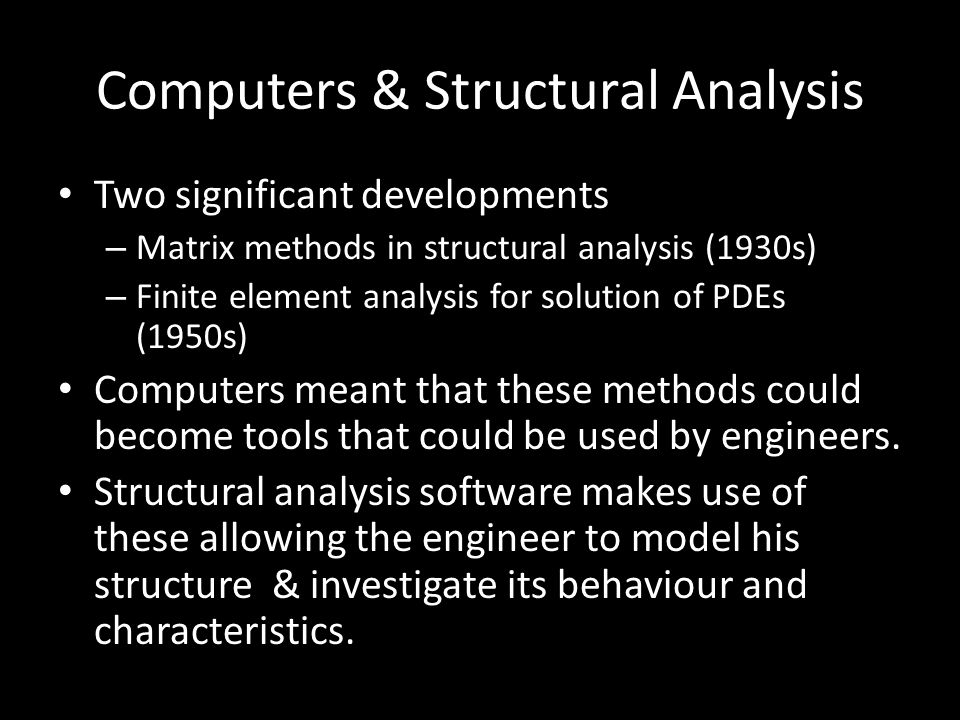 GSA Maths Applied to Structural Analysis - ppt video online