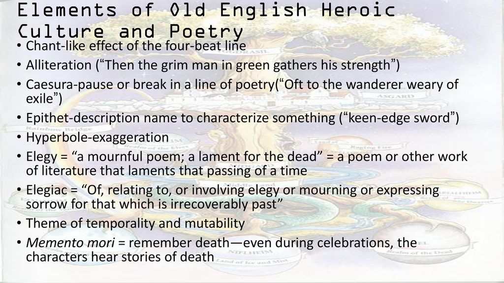old english heroic poetry