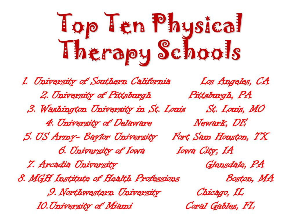 Physical Therapy Abby Clark 2nd Block  - ppt download