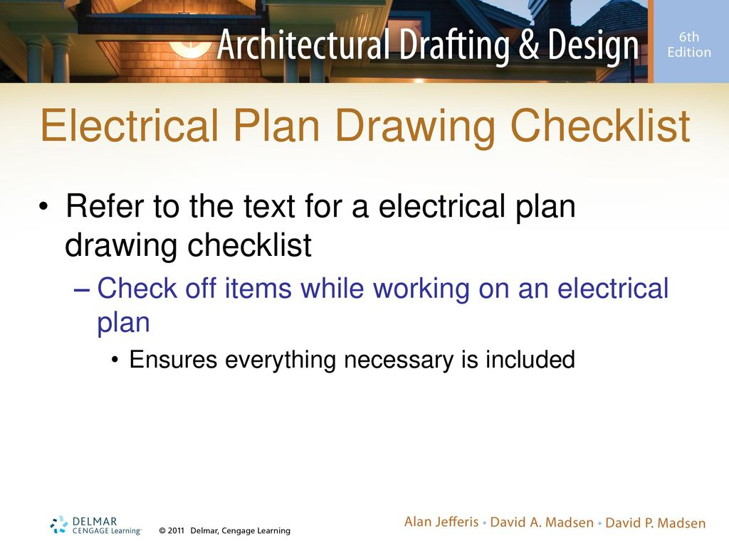 chapter 19 electrical plans ppt download fishing equipment checklist electrical plan checklist #8