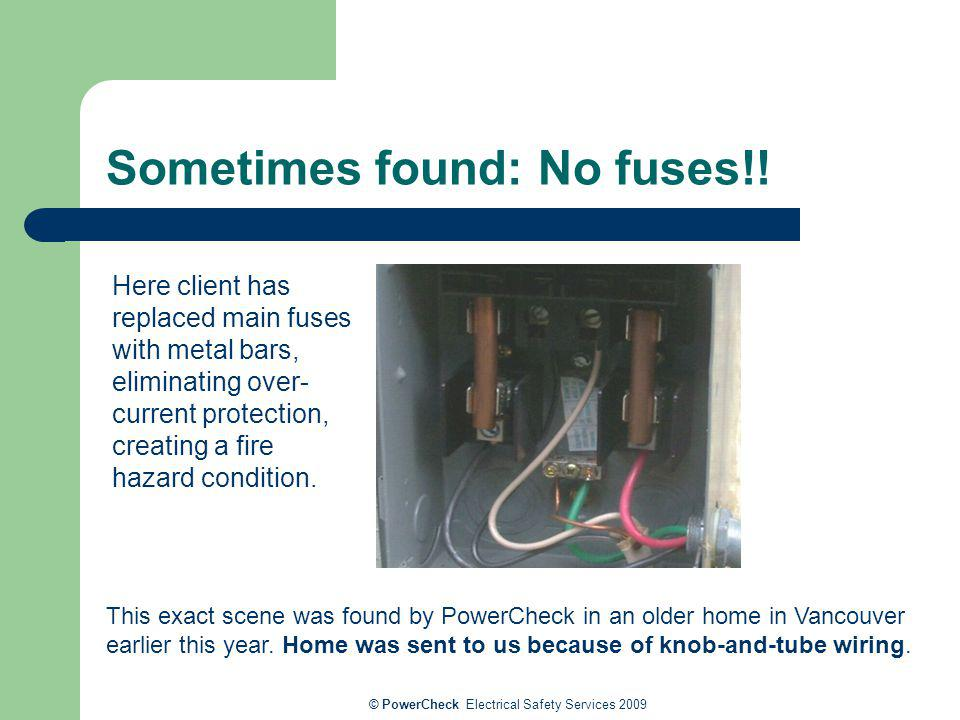 Electrical Risks, Safety and Solutions for Older Homes - ppt ... on tube assembly, tube fuses, tube terminals, tube dimensions,