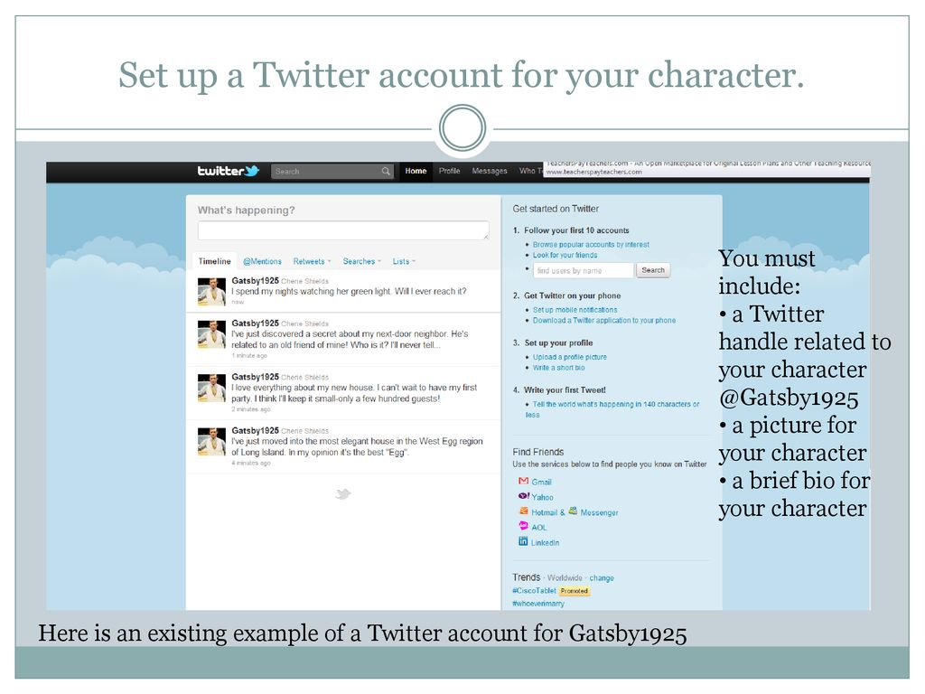 All a Twitter About Literature - ppt download
