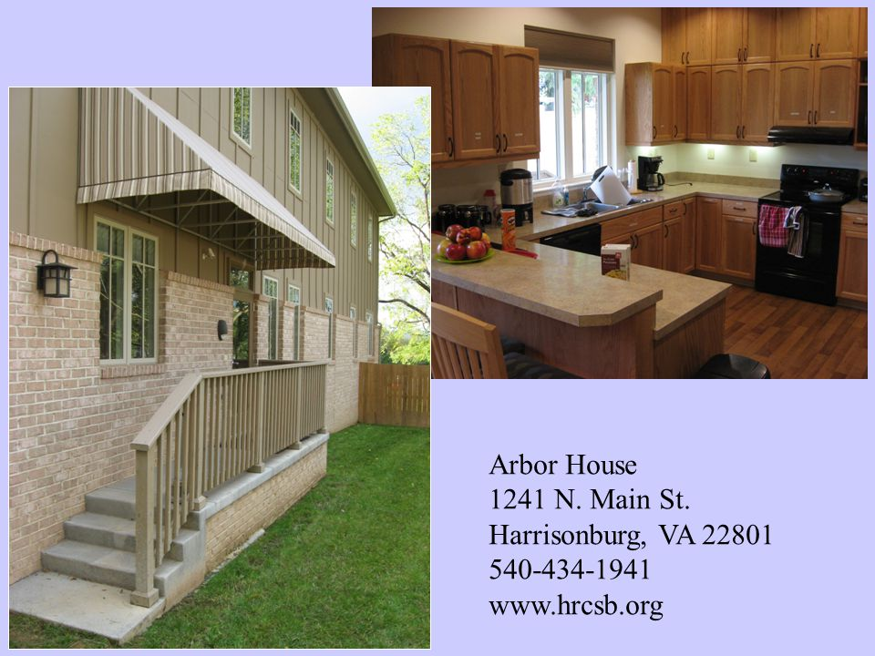 Arbor House 1241 N. Main St. Harrisonburg, VA