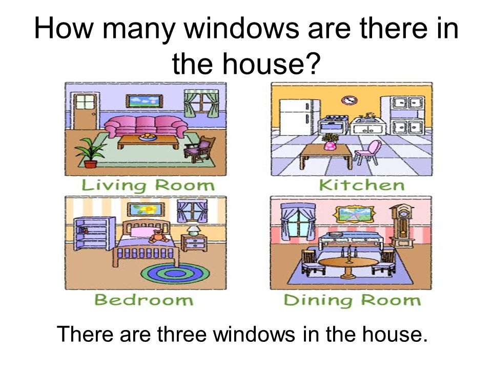 How many windows are there in the house