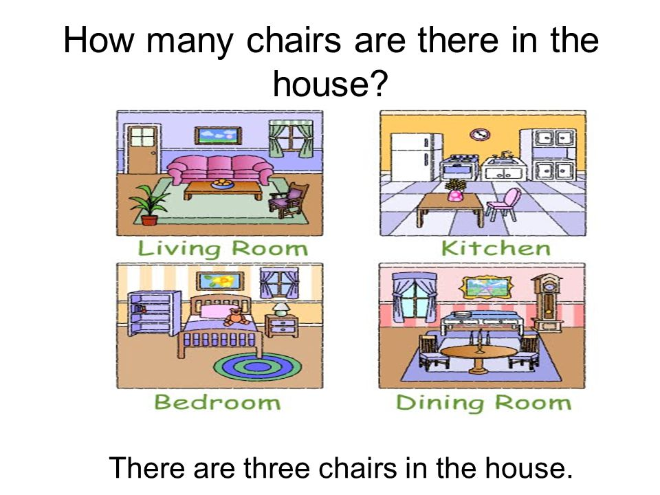 How many chairs are there in the house