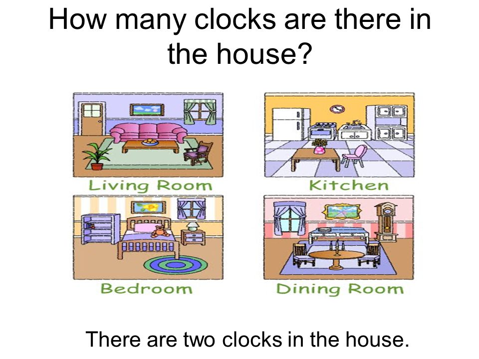 How many clocks are there in the house