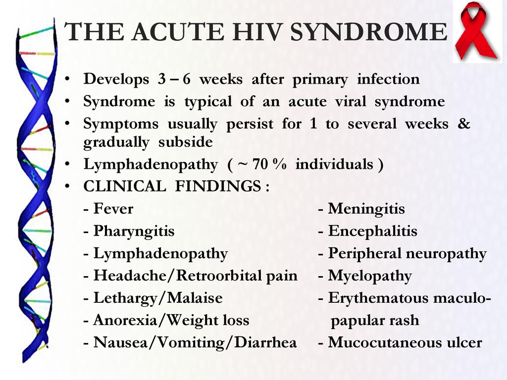 CLINICAL MANIFESTATIONS OF HIV - ppt download