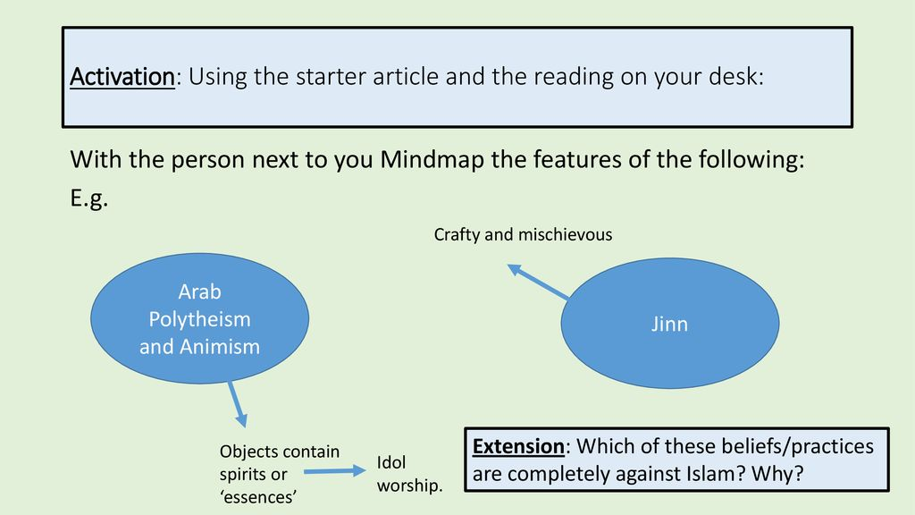 Polytheism, Animism and Jinn  - ppt download