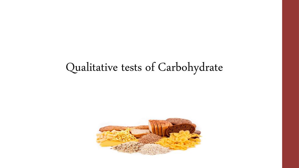 Qualitative tests of Carbohydrate