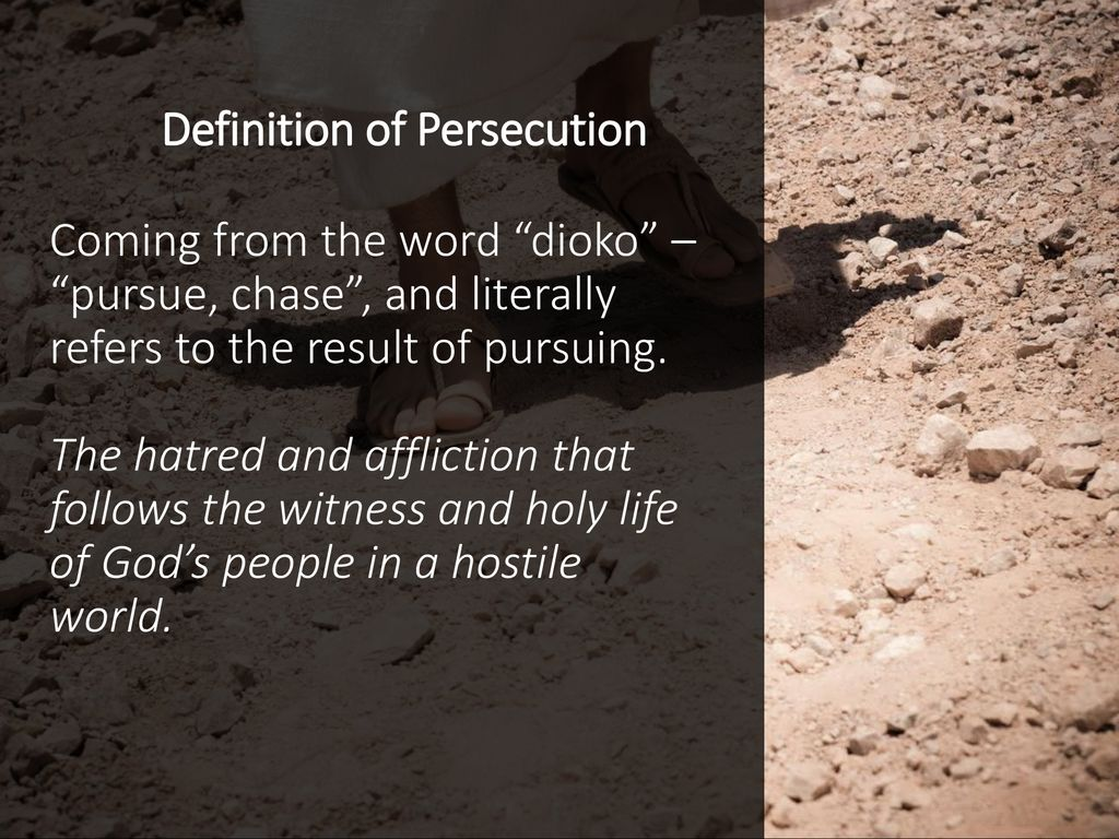 Definition Of Persecution | Examples and Forms